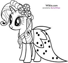 Coloring Page Little Pony Add Photo Gallery Book My