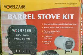 Building a Simple Barrel Stove 7 Steps with