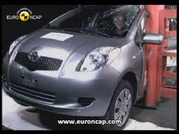 siege auto 1 2 3 crash test ncap toyota yaris 2005 crash test