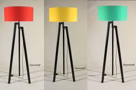 Handmade Tripod Floor Lamps