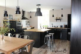 ensemble cuisine cuisine par b photo 3 25 vue d ensemble côté salle à manger