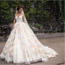 1920S Custom Make Vintage Lace Applique Princess Wedding Dresses