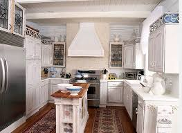 Small Kitchen Narrow In White With A Gorgeous Island At Its Heart Design