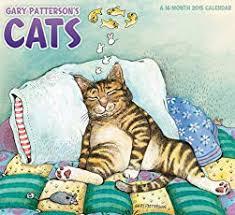 Gary Pattersons Cats Wall Calendar 2015