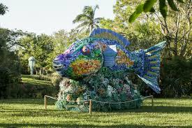 Washed Ashore Exhibition at Mounts Botanical Garden