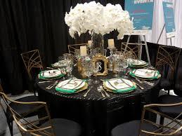 Black Gold Emerald Wedding