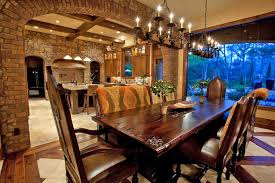 Mediterranean Dining Room Furniture With Exciting Chair Colors Including Appealing Style
