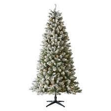 7 Foot Tacoma Flocked Christmas Tree
