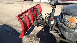 100 Used Snow Plows For Trucks 4 Sale Boss 7 5 Snow Plow In Great Shape UP159 SOLD YouTube
