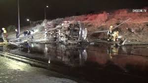 Two Lanes On Westbound 210 Freeway In Sylmar Reopen After Tanker ... 1990 Intertional 4900 Fuel Tanker Truck For Sale 601716 Two Lanes On Westbound 210 Freeway In Sylmar Reopen After Tanker United Wt5000 Tanker Trucks Price 194068 Year Of Manufacture Pro Petroleum Truck Fuel Hd Youtube Airbag Prevents From Tipping Over Tankertruck 1931 Ford Model A Classiccarscom Journal Tank Trucks Opperman Son Dais Global Industrial Equipment Tank Truck Hoses Bruder Man Tgs Online Toys Australia Howo H5 Oilfuel Powertrac Building A Better Future Filewater 20 Us Air Forcejpg Wikimedia Commons