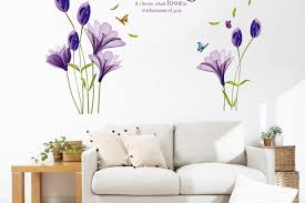 Bedroom Large Wall Decor Romantic Vinyl