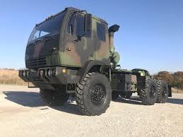 100 5 Ton Army Truck 1998 Stewart Stevenson M1088 Military Semi Midwest