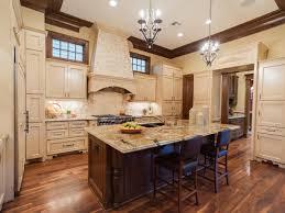 amazing u shape kitchen decoration using rectangular granite