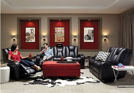 Kingvale Black 2 Pc Living Room with Power Reclining Sofa Living