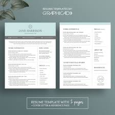 100 Reference Page Resume Modern 2 Template With Cover Letter And 2