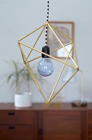 How To Make A Geometric Brass Pendant Curbly