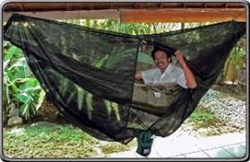 Bliss Mosquito Net Cocoon Hammock