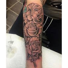 nice b g roses by meagan bohrer sink the ink tattoo