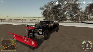 100 How To Plow Snow With A Truck 2020 Chevy Silverado Truck V10 MOD Farming Simulator