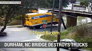 Video: Raised Semi Trailer Hits Bridge Over Highway - Autoblog