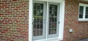 How to Install patio doors in a brick wall  Construction & Repair