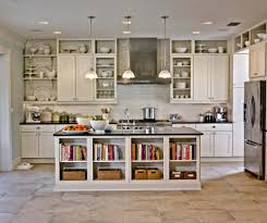 Kitchen Awesome Galley Kitchens Without Upper Cabinets A On Top Decor