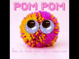 Fun KiDS Craft How To Make A Pompom
