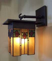 wall sconce craftsman style lighting greene frank sconces inside