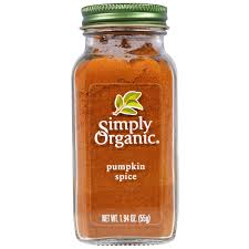 Are Kashi Pumpkin Spice Flax Bars Healthy by Simply Organic Pumpkin Spice 1 94 Oz 55 G Iherb Com