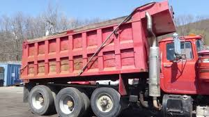 1994 Mack RD690S Tri Axle Dump Truck - TRO 0430181 - YouTube