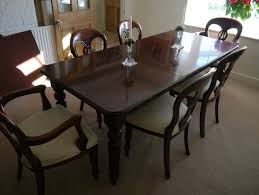 Classic Replica Victorian Dining Table Chairs