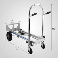 15% Discount 3 In 1 Aluminum Hand Truck Foldable Dolly Cart 1000 Lb ...