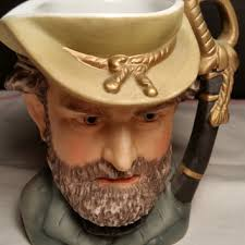 Lefton Ulysses S Grant Toby Mug 18th President Commanding General Of Union Army In US