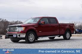 Pre-Owned 2013 Ford F-150 Lariat Crew Cab In Ceresco #9J051B | Sid ... Used Cars Trucks In Maumee Oh Toledo For Sale Full Review Of The 2013 Ford F150 King Ranch Ecoboost 4x4 Txgarage Xlt Nicholasville Ky Lexington Preowned 4d Supercrew Milwaukee Area Extended Cab Crete 6c2078j Sid Truck Wichita U569141 Overview Cargurus Xl Supercab Pickup Truck Item Db5150 Sold For Warner Robins Ga 4x2 65 Ft Box At Southern Trust Auto Standard Bed Janesville Bx4087a1 Crew Pickup Norman Dfb19897