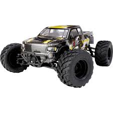Reely Core Brushed 1:10 XS RC Model Car Electric Monster Truck 4WD ... Traxxas Xmaxx 16 Rtr Electric Monster Truck Wvxl8s Tsm Red Bigfoot 124 Rc 24ghz Dominator Shredder Scale 4wd Brushless Amazing Hsp 94186 Pro 116 Power Off Road 110 Car Lipo Battery Wltoys A979 24g 118 For High Speed Mtruck 70kmh Car Kits Electric Monster Trucks Remote Control Redcat Trmt10e S Racing Landslide Xte 18 W Dual 4000 Earthquake 8e Reely Core Brushed Xs Model Car Truck