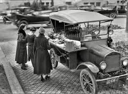 It's A Food Truck Washington, D.C., In 1919.