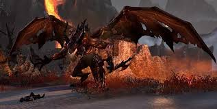 Is there any relation between the dragons in Skyrim and the