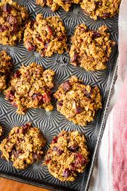 Roasted Pumpkin Seeds Glycemic Index by Healthy Pumpkin Cranberry Oatmeal Breakfast Cookies U2013 Unsophisticook
