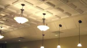 Ceilume Coffered Ceiling Tiles by Ceiling Tile Edge Trim Diy Video Dailymotion