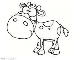 20 Dessins De Coloriage Vache Et Veau à Imprimer Dedans Coloriage 60