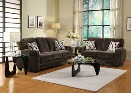 Dark Brown Couch Decorating Ideas by Homelegance Rubin Sofa Set Chocolate Textured Microfiber U9734ch