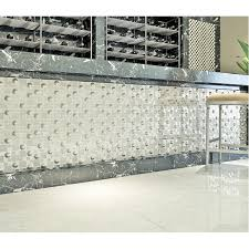 silver plated porcelain mosaic tile white glass mosaic