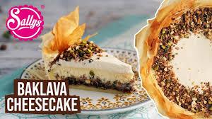 baklava cheesecake ramadan special ramazan tarifleri sallys welt