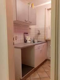 kleine küchenzeile grau weiß küche kühlschrank günstig