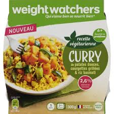 plat cuisiné weight watchers weight watchers curry de patates douces courgettes grillees et riz