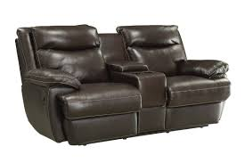 Red Barrel Studio Hughes Leather Reclining Loveseat & Reviews
