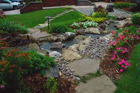 Backyard Ponds Garden With Tropical Plants And Stepping Stones Good Time To How Lay Howtos Diy Bystep Itructions For Making Modern Front Yard Designs Ideas Best Design On Pinterest Backyard Japanese Garden Narrow Yard Part 1 Of 4 Outdoor For Gallery Bedrock Landscape Llc Creative Landscaping Idea Small Stone Affordable Path Family Hdyman Walkways Pavers Backyard Stepping Stone Lkway Path Make Your