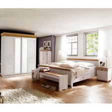 details zu schlafzimmer oslo 4 tlg set kiefer massiv weiß und antik schweber bett 180x200