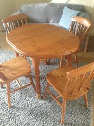 Pine Solid Wood Dining Table & 4 Chairs - Extendable Table | In Chelmsford,  Essex | Gumtree Details About Ding Table And 4 Chairs Set Solid Pine Wooden Kitchen Home Fniture White Life Carver Wood 118cm Large Contemporary Funiture 118 76 73cm Canterbury With Bench Solid Pine Ding Table Chairs Yosemite 5 Piece Round Side Ivory Charm X90cm Salto With And Room Sets 1 Corona Costway 5pcs Brown Rakutencom Yakoe