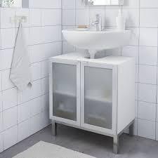 ikea lillangen waschbeckenunterschrank mit 2 türen in weiß